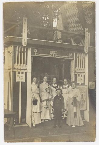 068203 - Muziekfeesten. Zomerkermis 1904. de namen zijn onbekend.