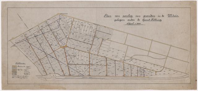 652542 - Plan van aanleg van gronden in de Witsie tussen de Dongenseweg en het Wilhelminakanaal