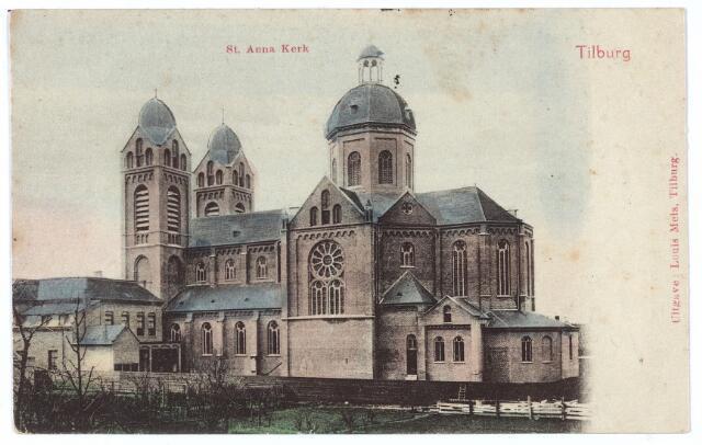 000339 - Capucijnenstraat met de St. Annakerk