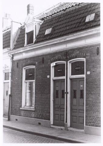 017251 - Onbewoonbaar verklaarde woning Capucijnenstraat 70 begin 1971