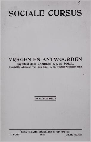 040934 - Sociale Cursus ddoor Lambert J.J.M. Poell.