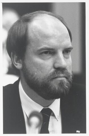 91002 - Made en Drimmelen. Raadslid W.J.F.M. van Beek (C.D.A.) tijdens de raadsperiode 1986 - 1990
