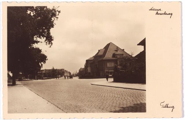 002120 - De Spoorlaan voorheen de Oude Bosscheweg, in het midden de Nieuwe Bosscheweg en rechts de ingang van de Professor Dondersstraat.