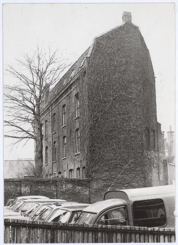 025483 - Voormalig pakhuis aan de Langestraat, gesloopt in 1983