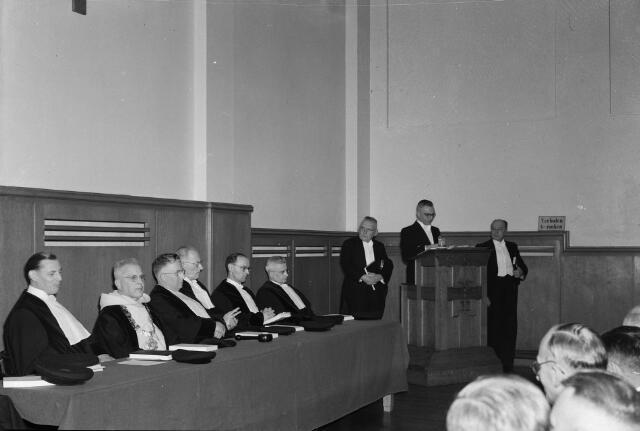 050738 - Promotie aan de Technische Hogeschool van dhr. G.M.J. Veldkamp, Ulvenhoutselaan 96 te Breda.