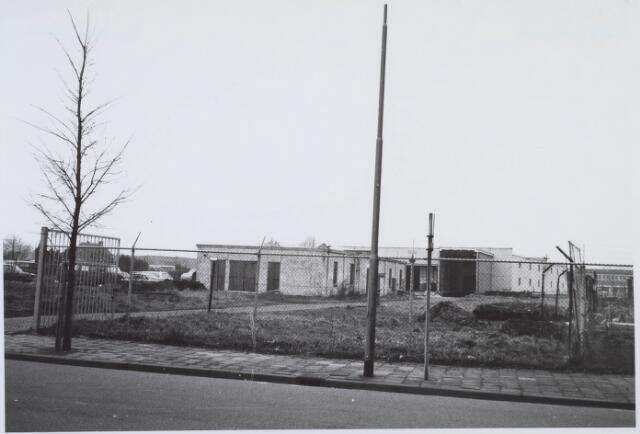 018352 - Textielindustrie. Gedeelte van de gebouwen van AaBe Wollenstoffen- en Wollendekenfabrieken aan de Fatimastraat.