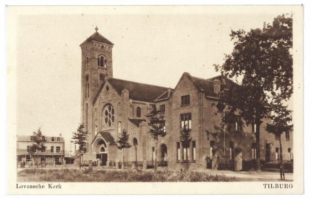 000416 - kerk H. Willebrordus (parochie Loven) aan de Enschotsestraat.