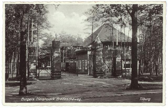 000250 - Dierentuin. ingang Burgers Dierenpark Bredaseweg