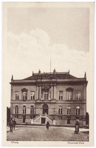 002338 - Stadhuisplein voornheen Markt met voormalig gemeentehuis.