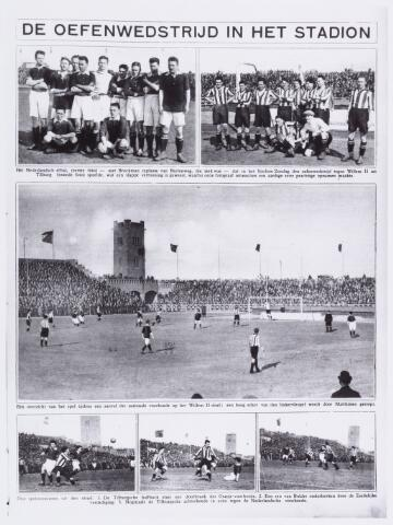 054035 - Sport. Voetbal. Willem II. Diverse foto's van de oefenwedstrijd tussen Willem II en het Nederlands elftal. Uitslag  1 - 1.