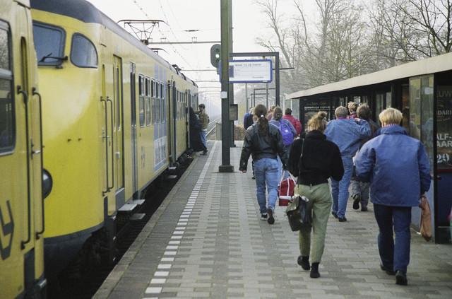 TLB023000681_002 - Station Tilburg West (tegenwoordig station Tilburg Universiteit).