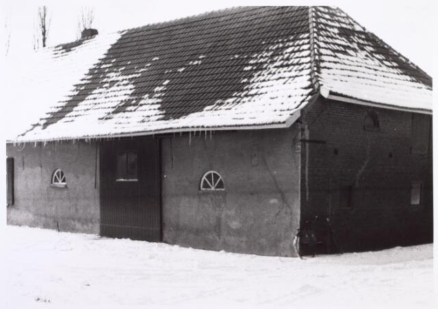 014542 - Boerenschuur aan de Stokhasseltstraat (Bellinistraat) begin 1963