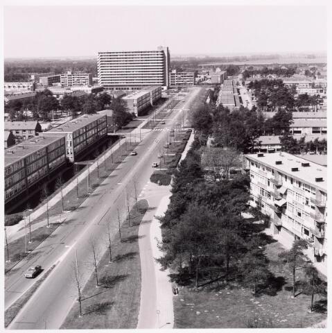036621 - Panorama van Tilburg vanaf de flat aan de Salesianenstraat