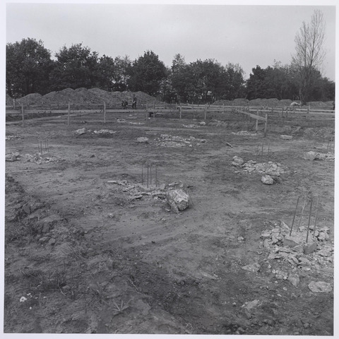 026804 - De Blaak in opbouw. Fase II richting Dongepad (achtergrond). Links Niers