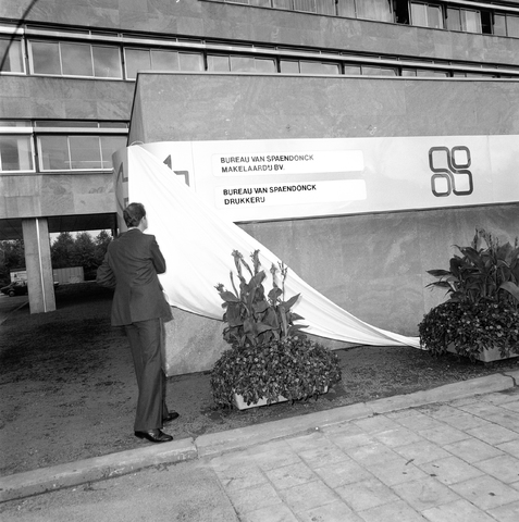 D-001461-1 - Bureau van Spaendonck, Reitseplein