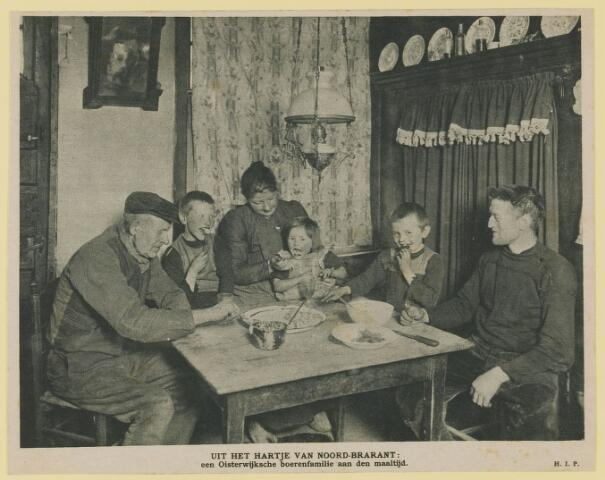 075442 - Boerenfamilie, uit Kath. Illustratie 29-04-1916