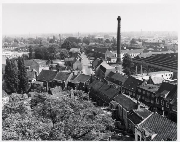 036399 - Panorama van Tilburg vanaf de toren van de Heuvelse kerk;