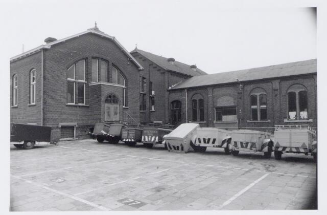 044966 - Gemeentelijke gasfabriek aan de Lange Nieuwstraat.