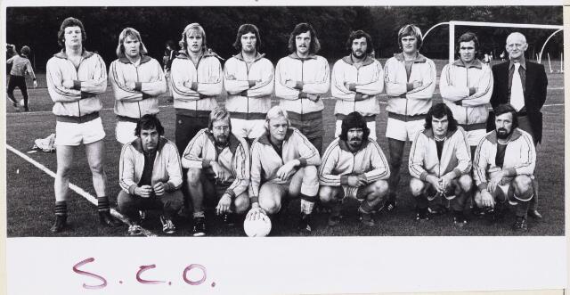 101266 - Sport. Voetbal. Elftal SCO voetbalvereniging.
