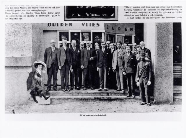 039504 - Opening van de wereldtentoonstelling voor Colonien, Scheepvaart en Vlaamse kunst in juni 1930 met een expositiestand van de firma Gulden Vlies sigarenfabriek v/h G. & S. Majoie