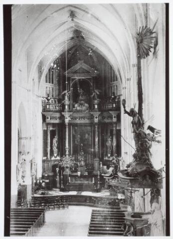 019600 - Hoofdaltaar van de Goirkese kerk (dd originele opname  niet bekend)