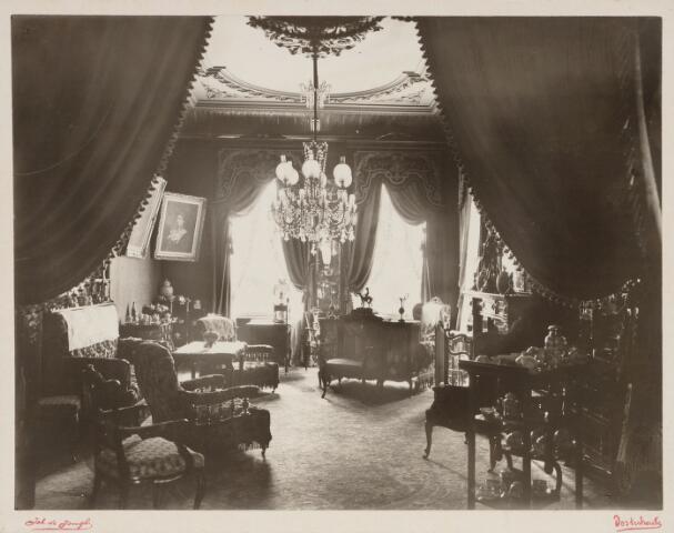 065415 - Interieur. Villa Mathilda. De salon.