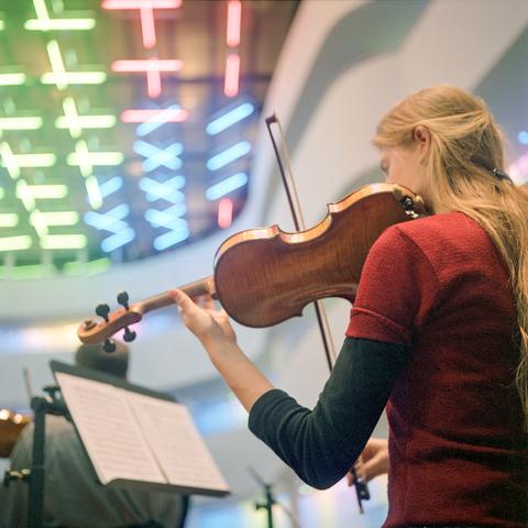 D-000005-1 - Brabants conservatorium : violiste