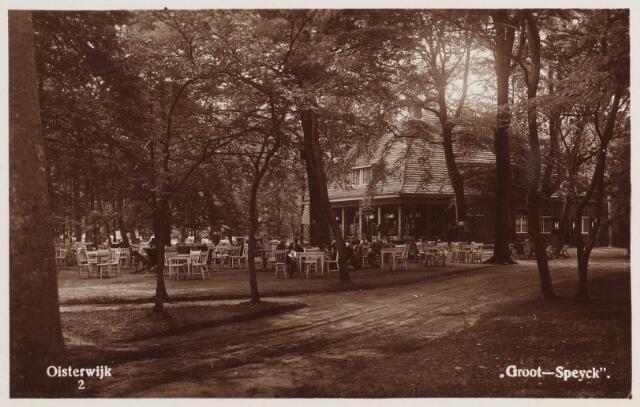 """057661 - Van Tienhovenlaan. Horeca. Bosrestaurant """"Groot-Speyck""""."""