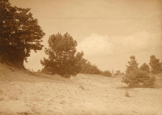 600781 - Landschap in de omgeving van Loon op Zand. Duinen en bossen.Kasteel Loon op Zand. Families Verheyen, Kolfschoten en Van Stratum