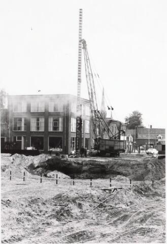 032559 - Eerste paal nieuw stadhuis: omschrijving zie documentnummer 32552