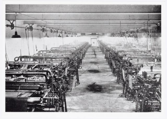 037872 - Textielindustrie. Buckskinweverij van wollenstoffenfabriek Janssens - Van Buren.