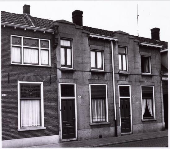 033987 - Voorgevels van de panden Vincentiusstraat 44 en 46