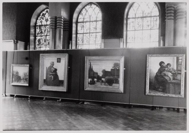 103761 - Tentoonstelling Kunstkring Tilburg over De Kempen in de Kunst gehouden in het Paleis Raadhuis op 28 juli - 9 september 1951.