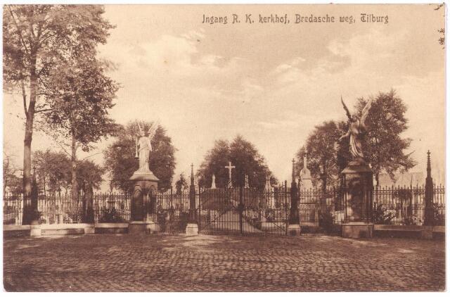 000108 - Ingang van het kerkhof Bredase Weg.