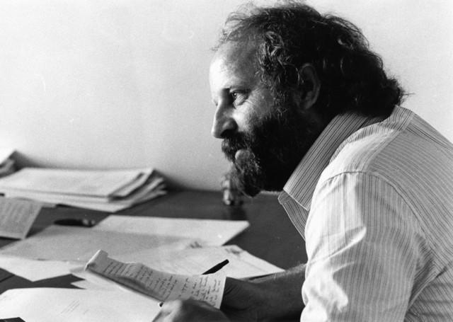 1238_F0129 - Eddy Vaes Al begin jaren zeventig was hij al actief als acteur. Als criticus en journalist was hij in vaste dienst bij de Universitaire Pers in Nederland.en als freelancer werkte hij voor dag- en weekbladen in Nederland en België. Als regisseur en dramaturg werkte hij voornamelijk in Nederland.