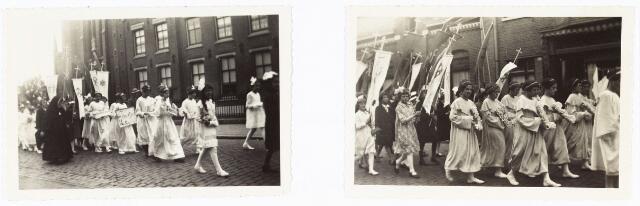 009762 - bruidjes processie parochie 't Goirke ± 1930