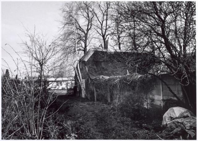015735 - Pand Bokhamerstraat 13, waar in de jaren 1986 en 1987 archeologisch onderzoek werd verricht