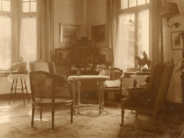 600563 - Interieur Kasteel Loon op Zand. Families Verheyen, Kolfschoten en Van Stratum