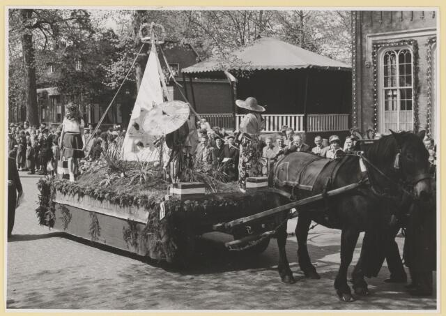 080803 - 10 jaar bevrijding. 1945-1955. No. 14. Het statuut der Nederlanden. Buurt: Biezenmortel I en Gommelen.