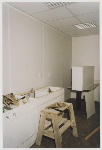 078119 - Bouw Streekarchief waarvan plaatsing eerste steen op 6 april 1993 en oplevering op 24 juni 1993.