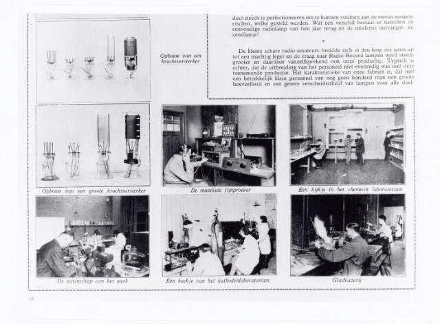 039661 - interieur N.V. Gloeilampenfabriek Radium.