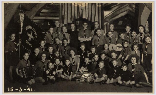 052984 - Jeugdorganisaties. Scouting. Scoutinggroep William Doyle parochie Noordhoek