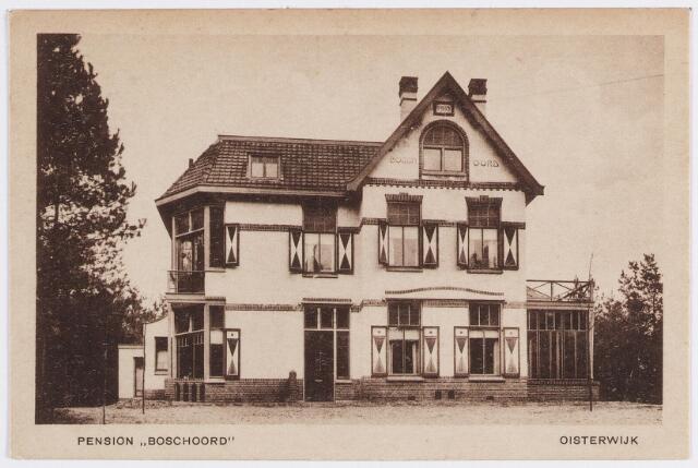 """057277 - Toerisme. Pension """"Boschoord"""", Oisterwijk"""