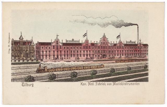 000724 - Industriestraat. Koninklijke Nederlandse Fabriek van Muziekinstrumenten van de Firma Kessels.