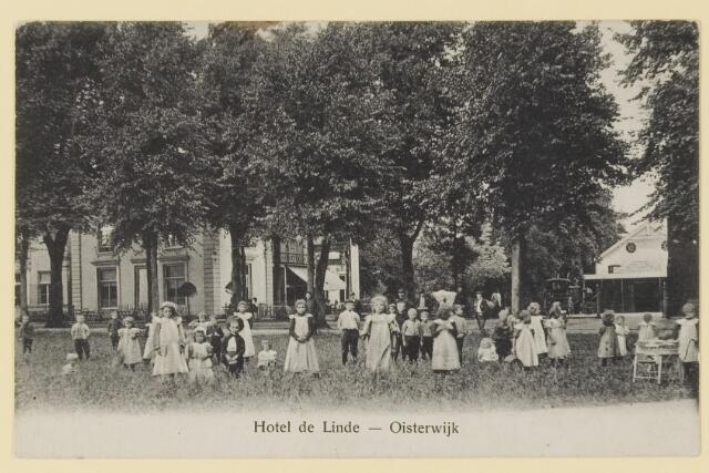 074506 - De Lind. Hotel De Linde te Oisterwijk