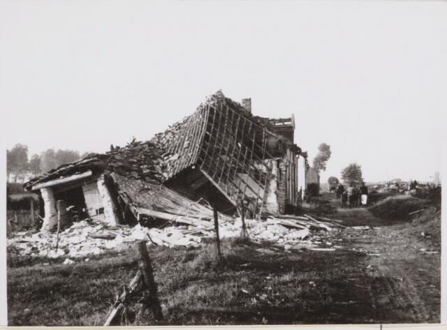 100629 - WO2 ; WOII ; Tweede Wereldoorlog.Oorlogschade