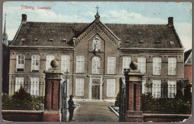 010255 - Het voormalige St. Elisabethgasthuis aan de Gasthuisstraat, nu Gasthuisring.