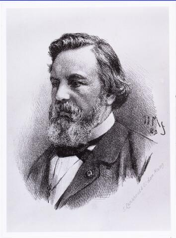 008211 - Litho. prof dr F.C. Donders 1818-1889.