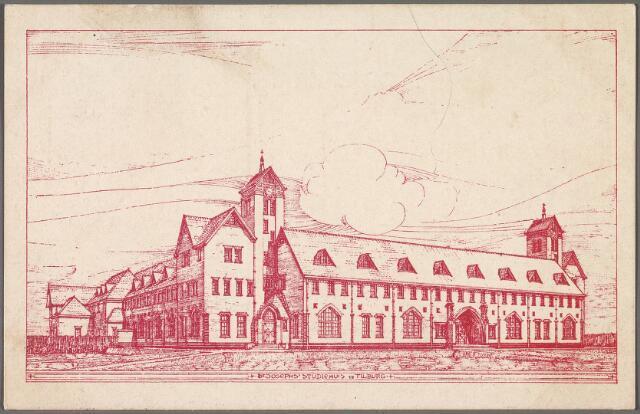 010421 - St. Joseph Studiehuis van de missie congregatie van Mill Hill aan de Dr. Ahausstraat.