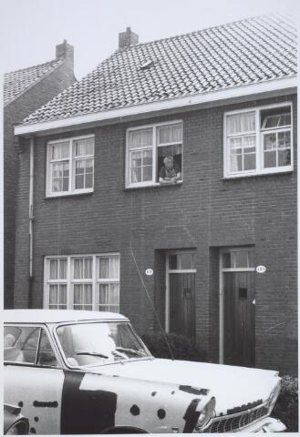 025738 - Pand Moleneind 131 eind mei 1966. Thans is dit de Leharstraat